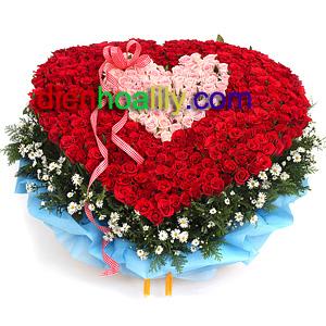 Hoa tình yêu- luôn bên em chính là những gì bạn muốn nói với người bạn yêu thương nhất