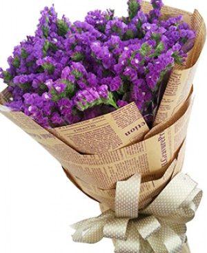 Hoa tình yêu màu tím của Salem chính là những gì bạn cảm nhận được từ những bông hoa nhỏ nhắn xinh xắn và tím ngọt ngào này