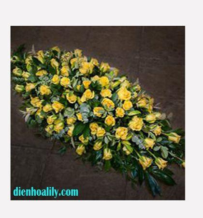 hoa chia buồn tại điện hoa Lily