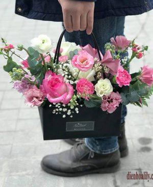 Hoa tình yêu- túi xách hoa với thiết kế lạ mắt và đáng yêu