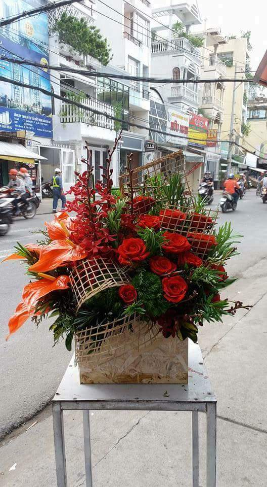 Hoa sinh nhật rực rỡ tại điện hoa Lily