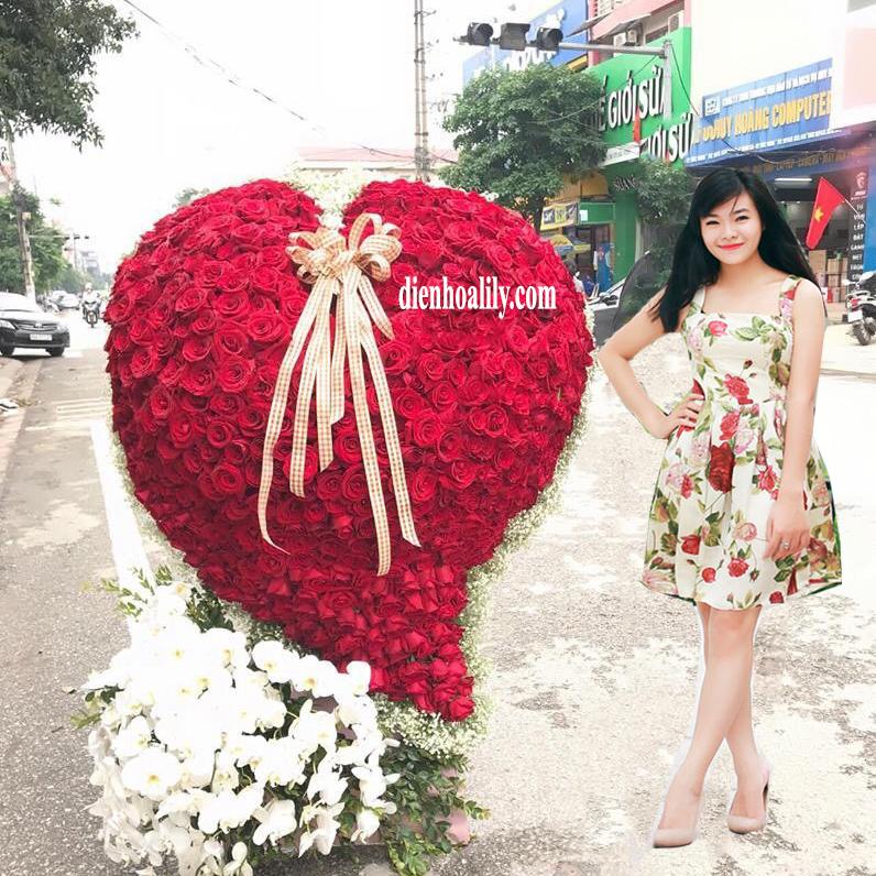 Hoa tình yêu - trái tim anh là dành cho em