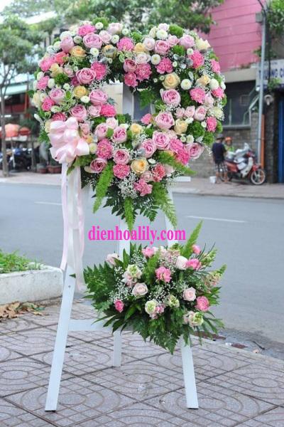 Hoa chúc mừng ngày cưới tại điện hoa Lily
