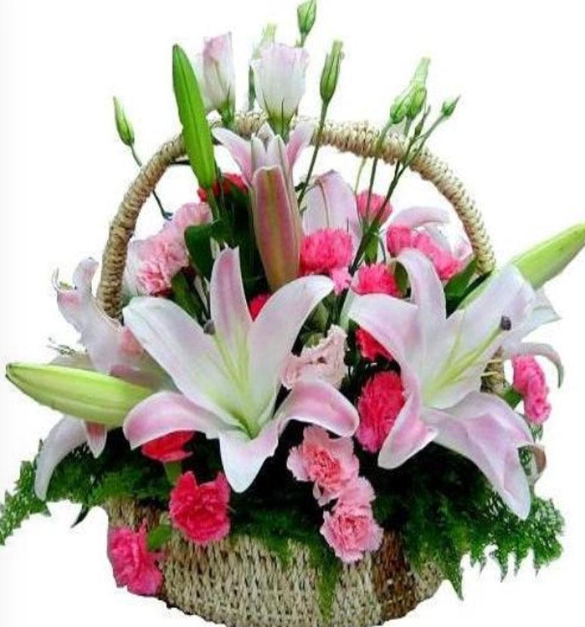 Những bó hoa tươi sinh nhật là món quà đơn giản